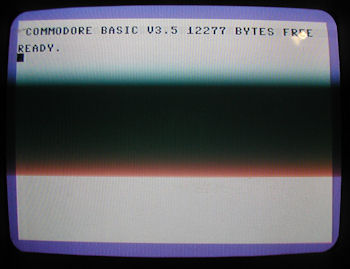 Commodore C-116 NTSC Boot Screen