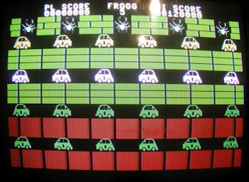 Plus/4 Frogger Screenshot