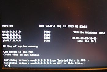 Digital VX40 boot screen